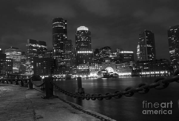 Photograph - Boston At Night by Juli Scalzi