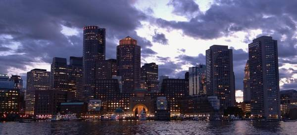 Wall Art - Photograph - Boston At Twilight by Laura Lee Zanghetti