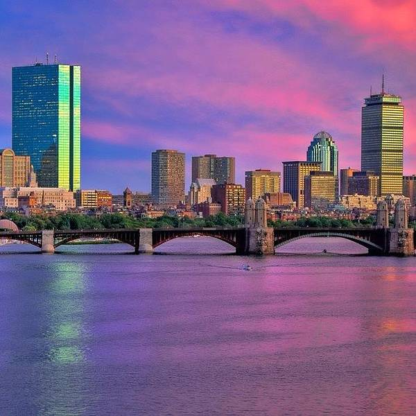 Wall Art - Photograph - #boston #bostonusa by Joann Vitali