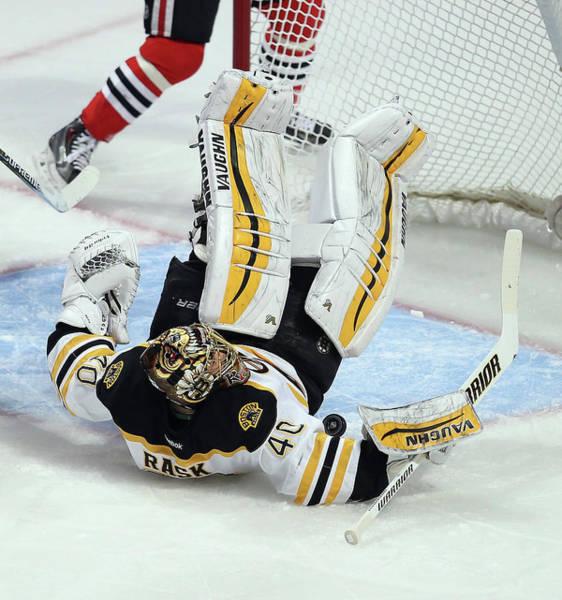 Chicago Blackhawks Photograph - Boston Bruins V Chicago Blackhawks by Jonathan Daniel