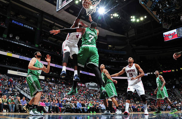Atlanta Photograph - Boston Celtics V Atlanta Hawks by Scott Cunningham