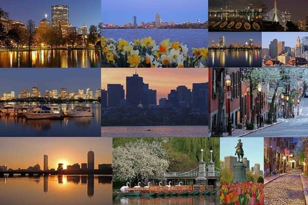 Photograph - Boston Cityscape Photography by Juergen Roth