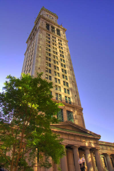 Photograph - Boston Custom House 3 by Joann Vitali