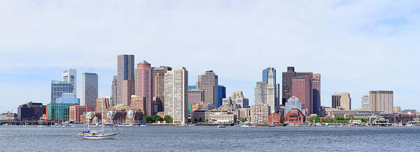 Photograph - Boston Downtown by Songquan Deng