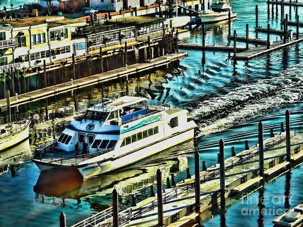 Photograph - Boston Harbor Express by Jeff Breiman