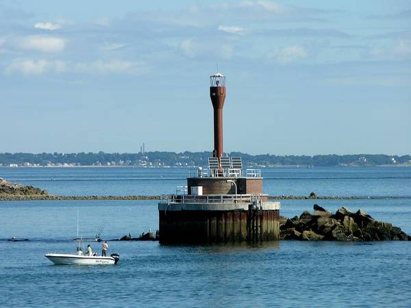 Photograph - Boston Harbor Lighthouse by Keith Stokes