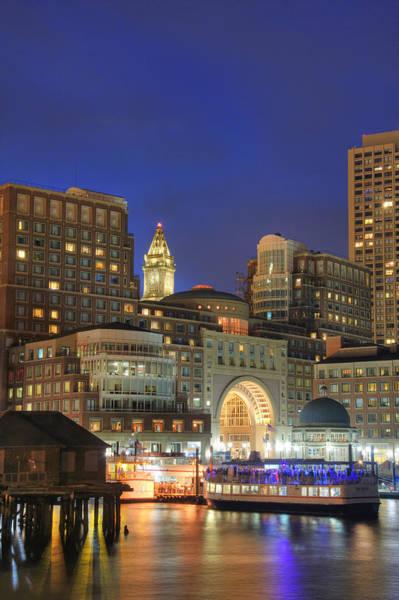 Photograph - Boston Harbor Party 2 by Joann Vitali