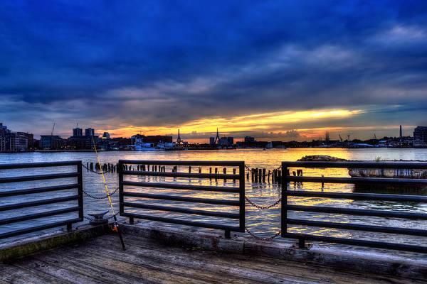 Photograph - Boston Harbor Sunset 3 by Joann Vitali