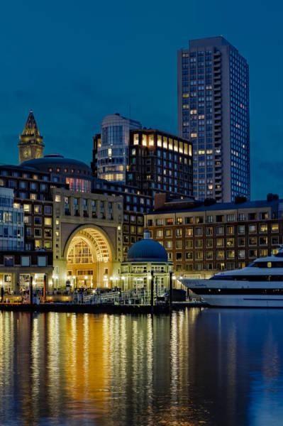 Photograph - Boston Harbor by Susan Candelario