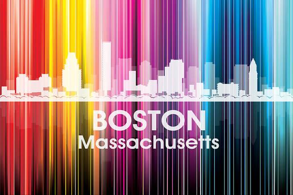 Digital Art - Boston Ma 2 by Angelina Tamez