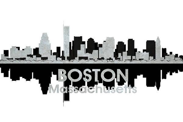 Mixed Media - Boston Ma 4 by Angelina Tamez