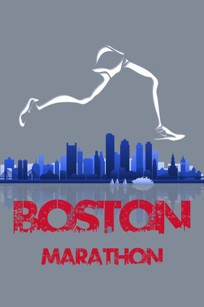 Wall Art - Photograph - Boston Marathon3 by Joe Hamilton