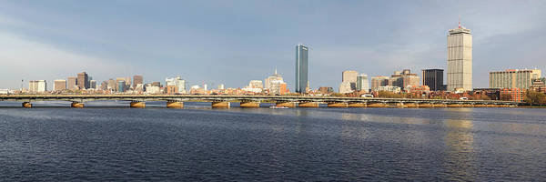 Photograph - Boston Mass Ave Bridge Panorama by Toby McGuire