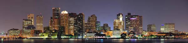 Photograph - Boston Massachusetts by Songquan Deng