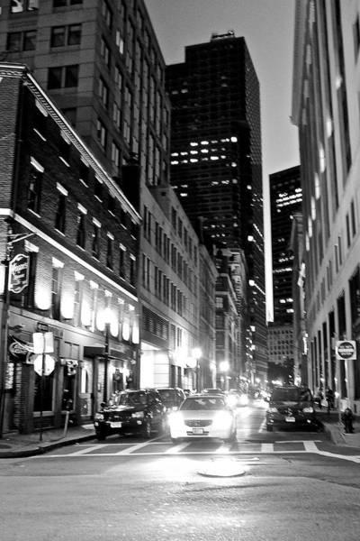 Photograph - Boston Night by Amazing Jules
