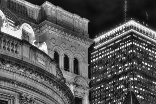 Photograph - Boston Old And New Architecture by Joann Vitali