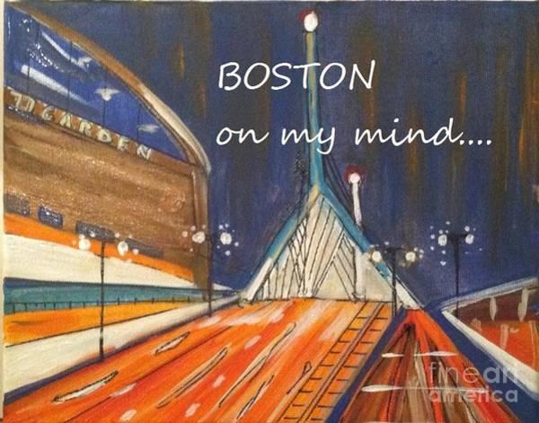 Boston On My Mind Art Print
