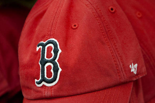 Photograph - Boston Red Sox Baseball Cap by Susan Candelario