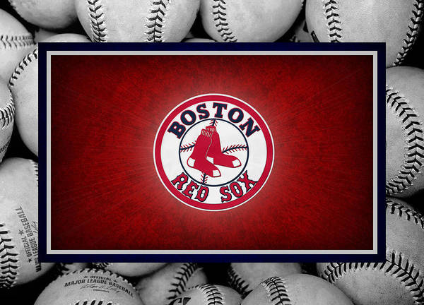 Outfield Wall Art - Photograph - Boston Red Sox by Joe Hamilton