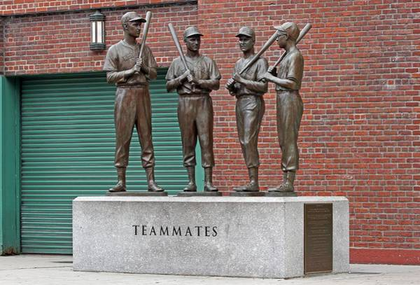 Photograph - Boston Red Sox Teammates by Juergen Roth