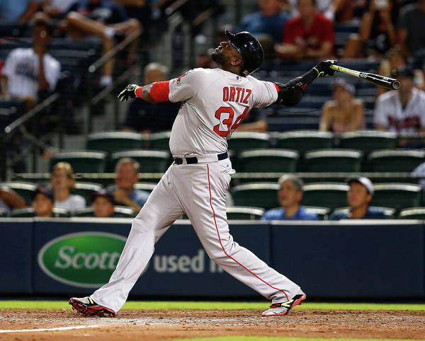 Turner Field Photograph - Boston Red Sox V Atlanta Braves by Mike Zarrilli