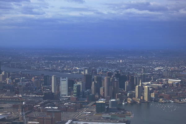 Photograph - Boston Skyline by Amazing Jules
