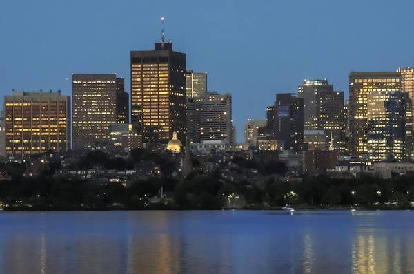 Photograph - Boston Skyline And Beacon Hill by Robert Mitchell