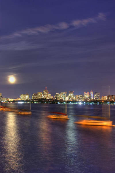 Wall Art - Photograph - Boston Skyline From Memorial Drive by Joann Vitali