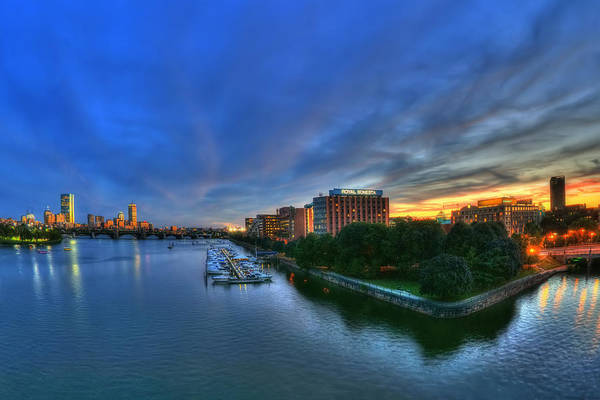 Photograph - Boston Skyline From The Charles River by Joann Vitali