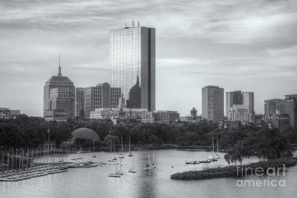 Photograph - Boston Skyline Iv by Clarence Holmes