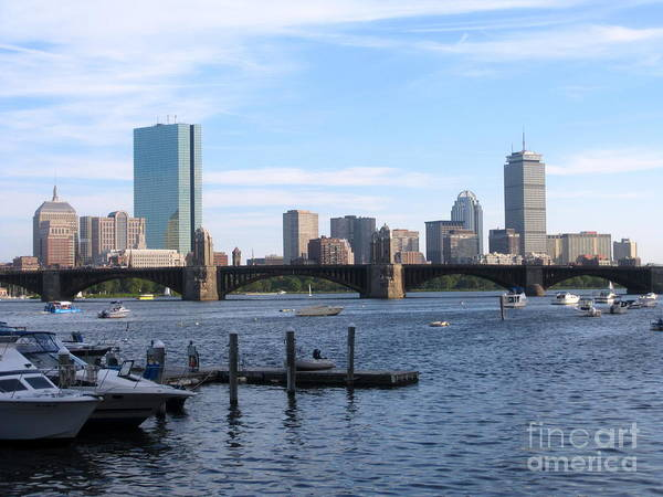 Boston Skyline Art Print by Jason Clinkscales
