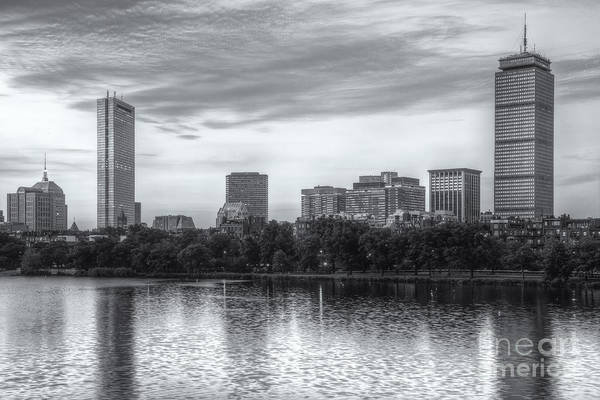 Photograph - Boston Skyline Vi by Clarence Holmes