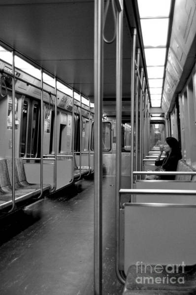 Photograph - Boston Subway  by Staci Bigelow