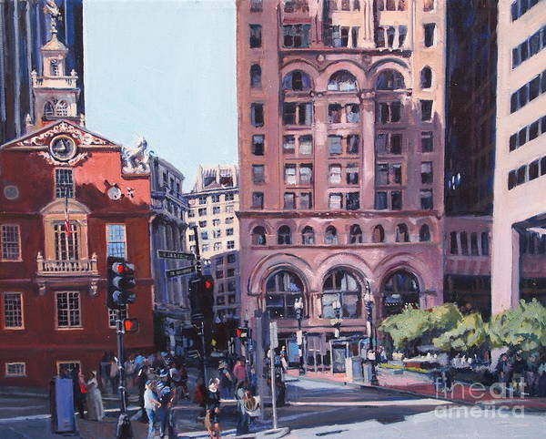 Painting - Boston Summer by Deb Putnam
