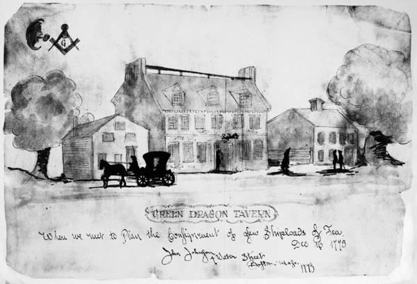 Photograph - Boston: Tavern, 1773 by Granger