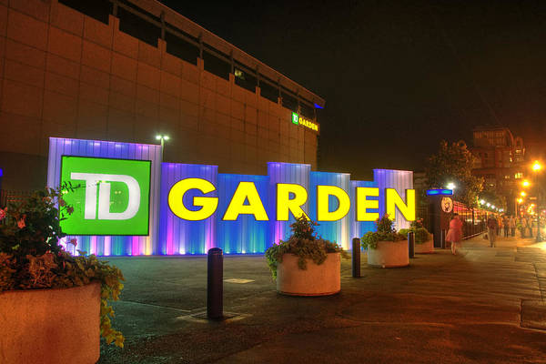Photograph - Boston - Td Garden by Joann Vitali