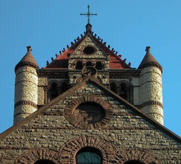 Photograph - Boston Unity Church 2871 by Guy Whiteley