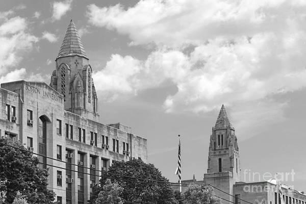 Photograph - Boston University Towers by University Icons