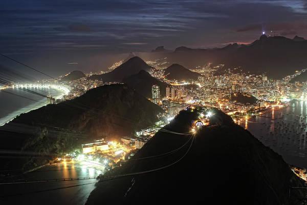 Rio De Janeiro Photograph - Botafogo, Praia Vermelha Beach And by Antonello