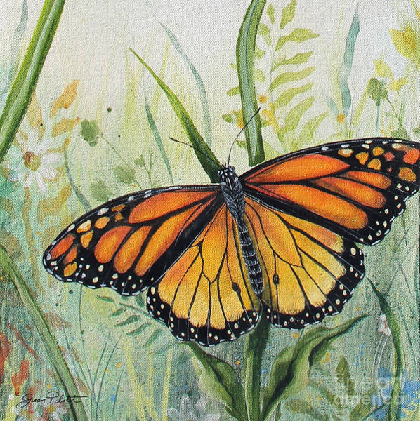 Acrylic Paints Painting - Botanical Beauties-jp2543 by Jean Plout