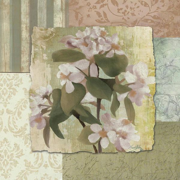 Wall Art - Digital Art - Botanical Blossom by Elizabeth Medley