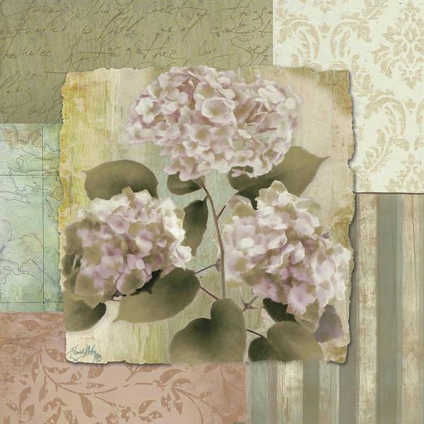 Wall Art - Digital Art - Botanical Hydrangeas by Elizabeth Medley