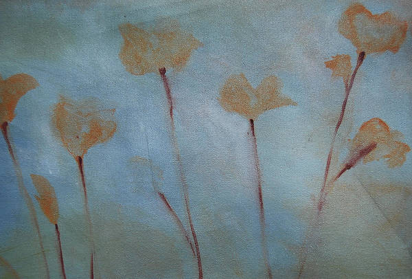 Painting - Botanical Poppies by Jani Freimann