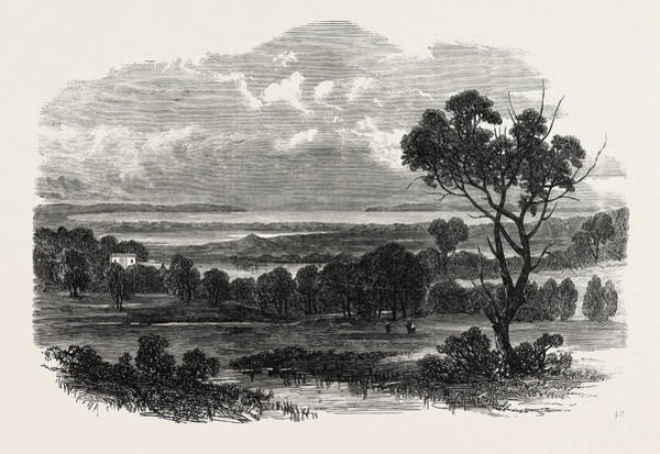 New South Wales Drawing - Botany Bay, New South Wales, With Botany Heads by Welsh School