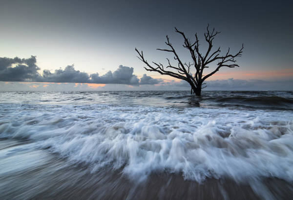 Rising Water Photograph - Botany Bay Power by Serge Skiba