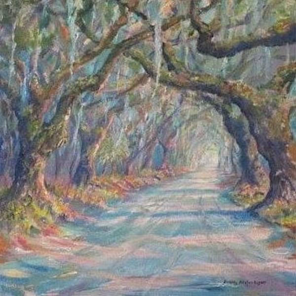 Painting - Botany Bay Road by Dorothy Allston Rogers