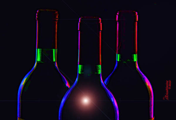Photograph - Bottles by Ericamaxine Price