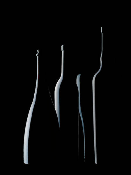 Bottles Photograph - Bottles Waiting by Jorge Pena