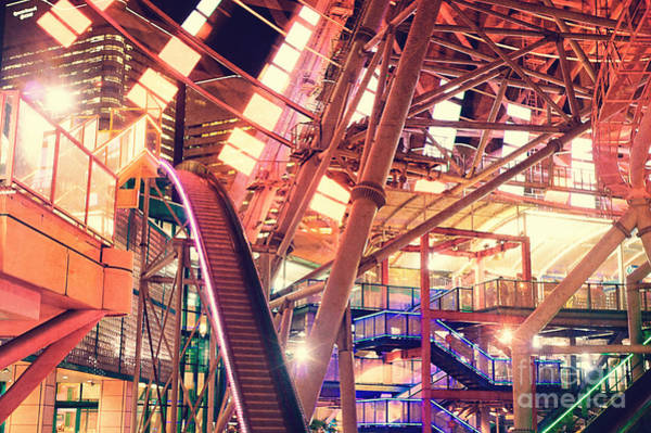 Photograph - Bottom Of A Gigantic Ferris Wheel by Beverly Claire Kaiya