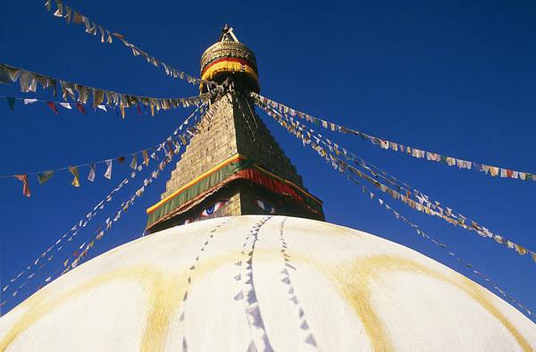 Wall Art - Photograph - Boudha Stupa, Nepal by Alison Wright